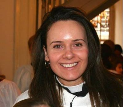 A headshot of the Rev. Kate Spelman